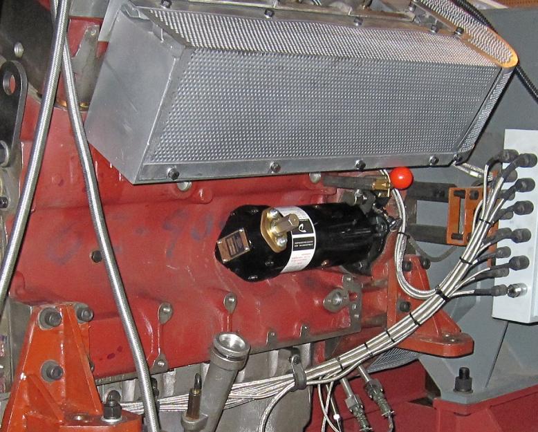 Dalin mechanical spring starter