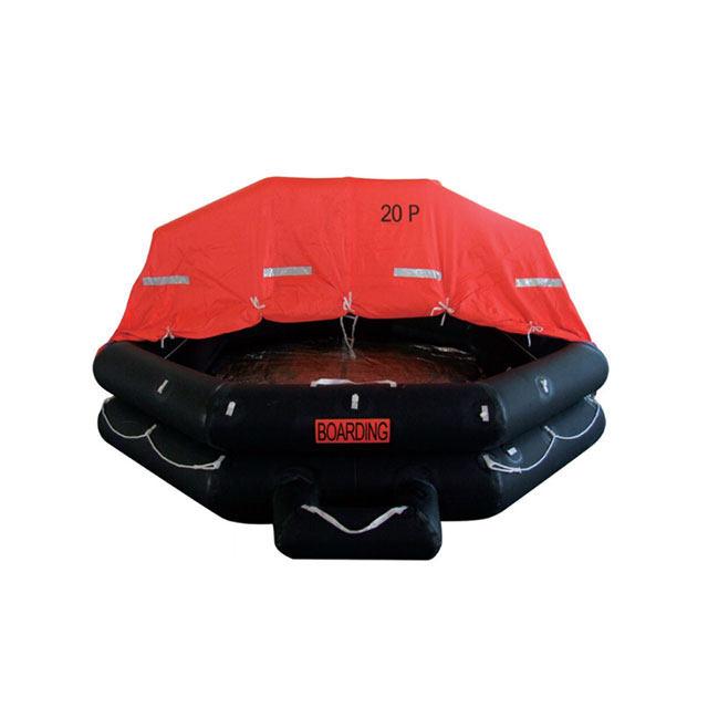 emergency inflatable life raft
